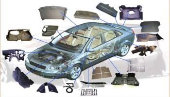 recyklovateľné časti automobilu