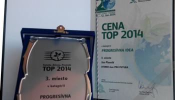 Cena TOP 2014 v kategórii Progresívna idea – 3.miesto